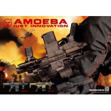 Ares Amoeba ' Stubby' Badger CQB AM-015 Airsoft AEG Rifle - Just Cause Airsoft