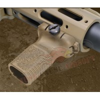 Ares Amoeba Vertical Fore Grip  AM-FG-03-BK/DE - Just Cause Airsoft