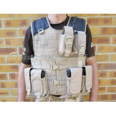 British Army Issue Tan Mk.3 Solo Body Armour Grade 2 - Just Cause Airsoft