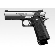 Tokyo Marui Hi Capa 4.3 Extreme .45 GBB High Kick High Grouping Airsoft Pistol Full Auto - Just Cause Airsoft