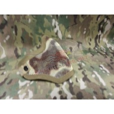 Lower Mesh Face Mask A-Tacs, Multicam, Tan Green & Black