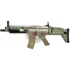 WE CQC Scar-L Desert Tan - Just Cause AIrsoft
