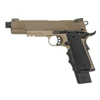 Army Armament Sandstorm 1911 MEU GBBP Pistol (R32-2) - Just Cause AIrsoft