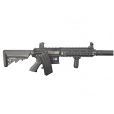 Bolt  B4 DEVGRU With Long Suppressor BRSS Recoil System AEG - Just Cause AIrsoft