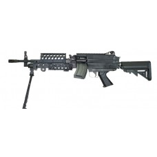 Classic Army M249 SPW Airsoft AEG Support Rifle