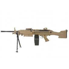 A&K FN Hertsal M249 Mk.2 Airsoft AEG Support Rifle - Just Cause Airsoft