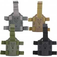 GK Tactical Modular Drop Leg Polymer Holster Panel - Just Cause Airsoft