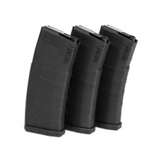 KWA K120C Mid-Cap Magazine ERG/VM4 Series - Pack of 3 - 30 or 120 Rounds - Just Cause Airsoft