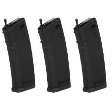 KWA PTS RM4 ERG 3 Pack Polymer Mid Cap Magazine 30-60rd - Just Cause Airsoft