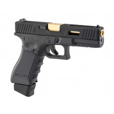 Stark Arms 17 Match Grade Airsoft Pistol Black, Silver - Just Cause Airsoft