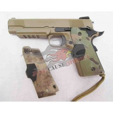 Silverback Airsoft 1911 Laser Grips A-Tacs, MULTICAM