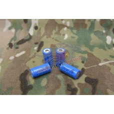 CR123A 1000mah 3.7V Rechargeable Batteries 4 Pack - Just Cause Airsoft