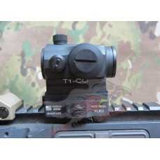 DYTAC T1Dot Sight w/AD co-witness QD Mount
